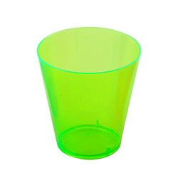 Green Multi Coloured Shot Glasses