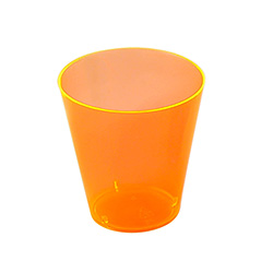 Orange Multi Coloured Shot Glasses