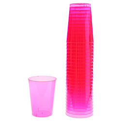 Pink Half Pint Cups