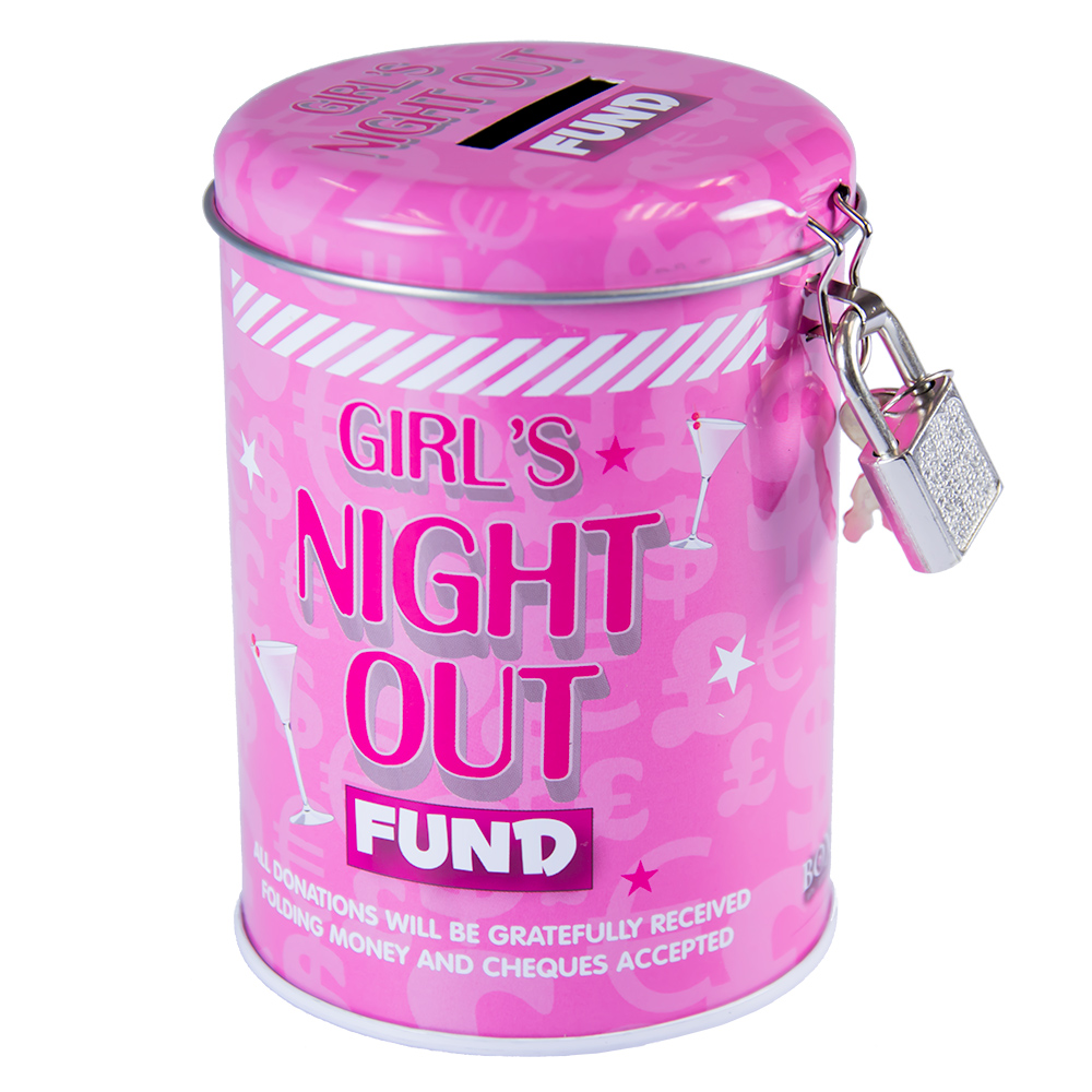 Girls Night Out Fund Tin