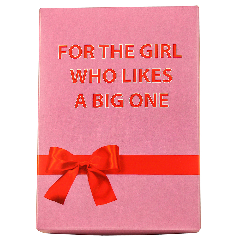 The Big One Pink Packaging