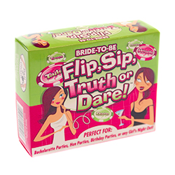 Flip and Sip Truth or Dare