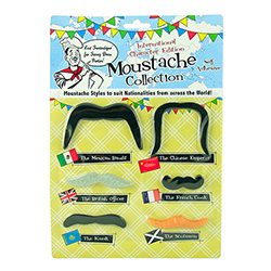International Moustache Selection Packaging