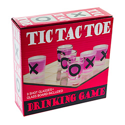 Tic Tac Toe Shot Game Packaging
