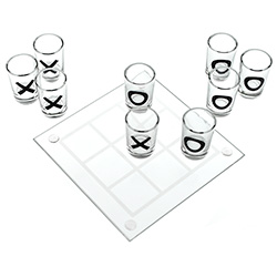 Tic Tac Toe Shot Game In Action