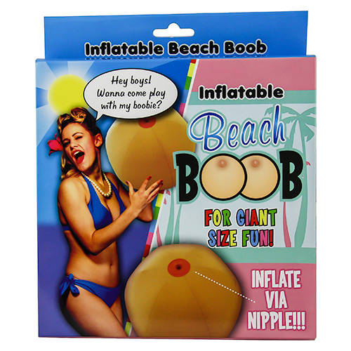 Inflatable Beach Boob Packaging