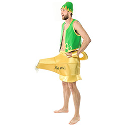 Green and Gold Genie In The Lamp Outfit
