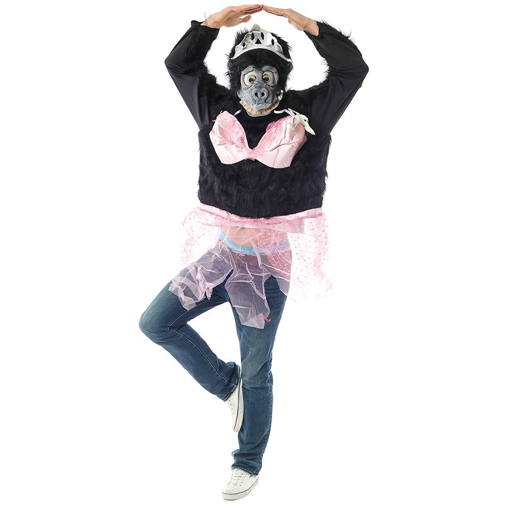 Gorilla Ballerina Costume Stance