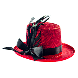 Mini Red Top Hat Product Image