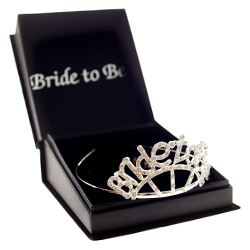 Diamante Bride To Be Tiara In Box
