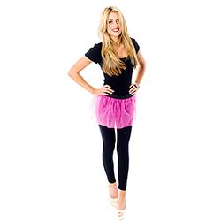 Model Wearing Hot Pink Tutu