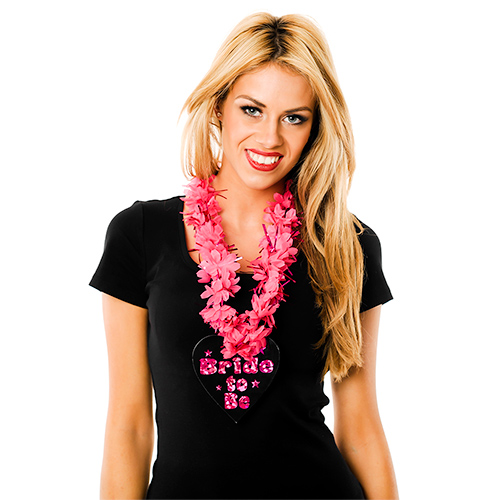 Lei with Decorative Petals And Tinsel