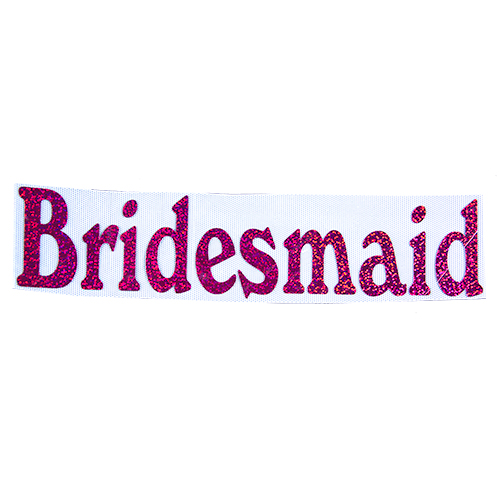 Bridesmaid Iron On Transfer