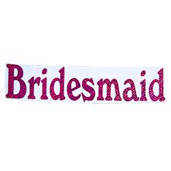 Bridesmaid Iron On Transfer