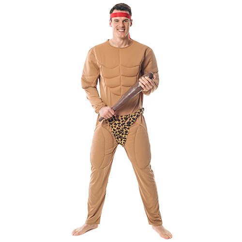 Front Facing Official Licensed Tarzan Costume