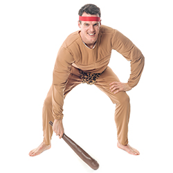 Crouched Official Licensed Tarzan Costume