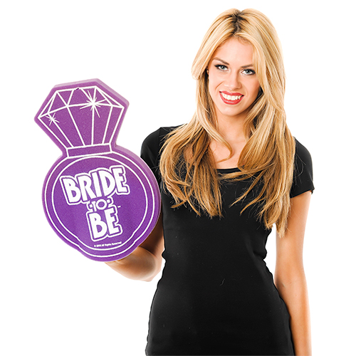 Bride To Be Foam Ring