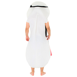 Back Of Ninja Sanitary Towel Costume