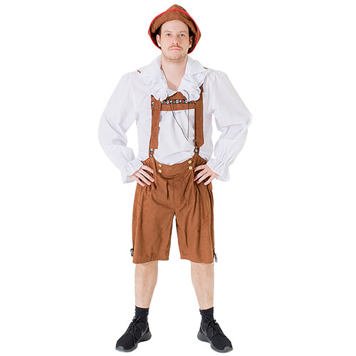 Thumbs Up Lederhosen Costume