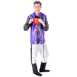 Side View Jockey Costume