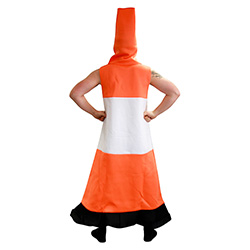 Back Of Traffic Cone Costume