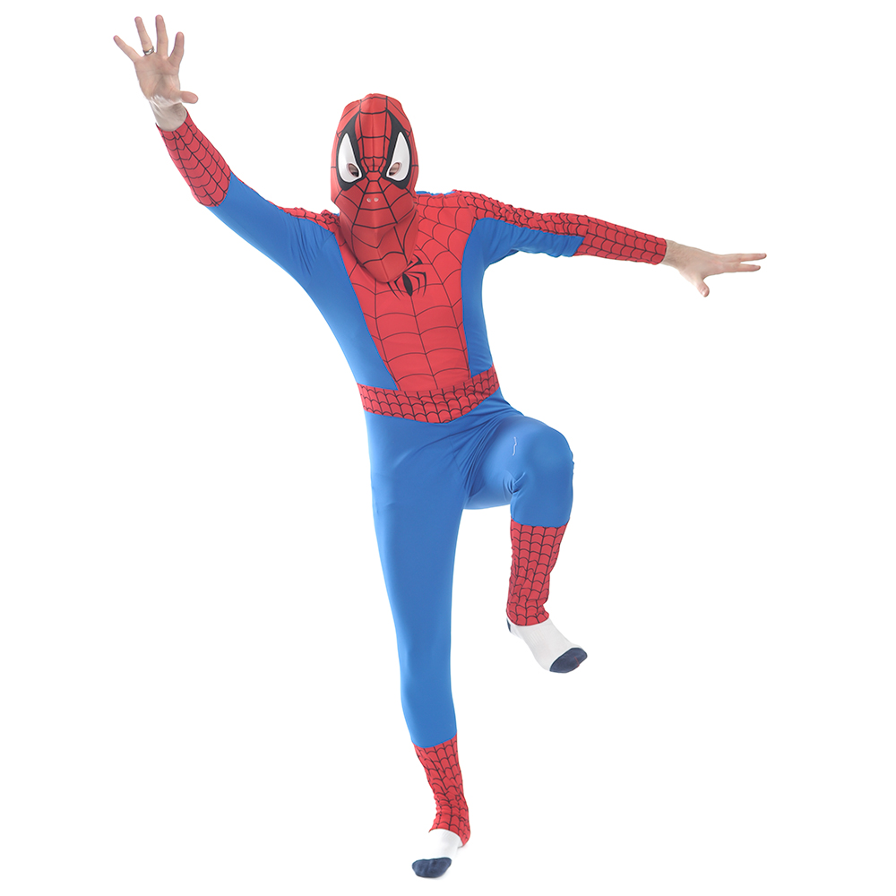 Official Spiderman Costume On White Background