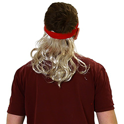 The Widowmaker mullet from the back