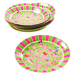 Stack Of Willy Party Plates