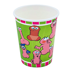 Willy Party Cup On A White Background