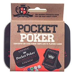 Full Pocket Sized Poker Set