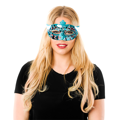 Front Of Assorted Masquerade Masks