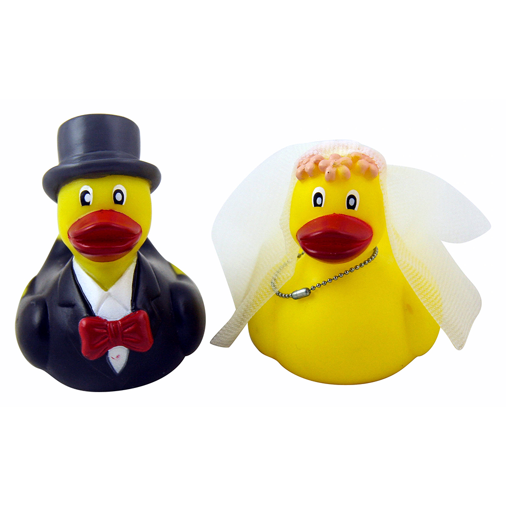 Front Facing Mr and Mrs Duck Set