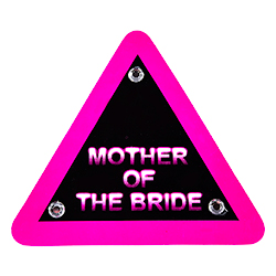 To be applied to the mother of the bride