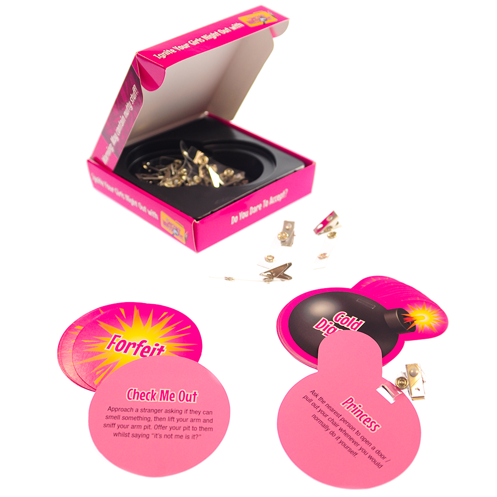 Girls Night Out Secret Missions Open Box