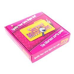 Girls Night Out Secret Missions Packaging