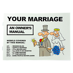 Your Marriage - An Owner's Manual