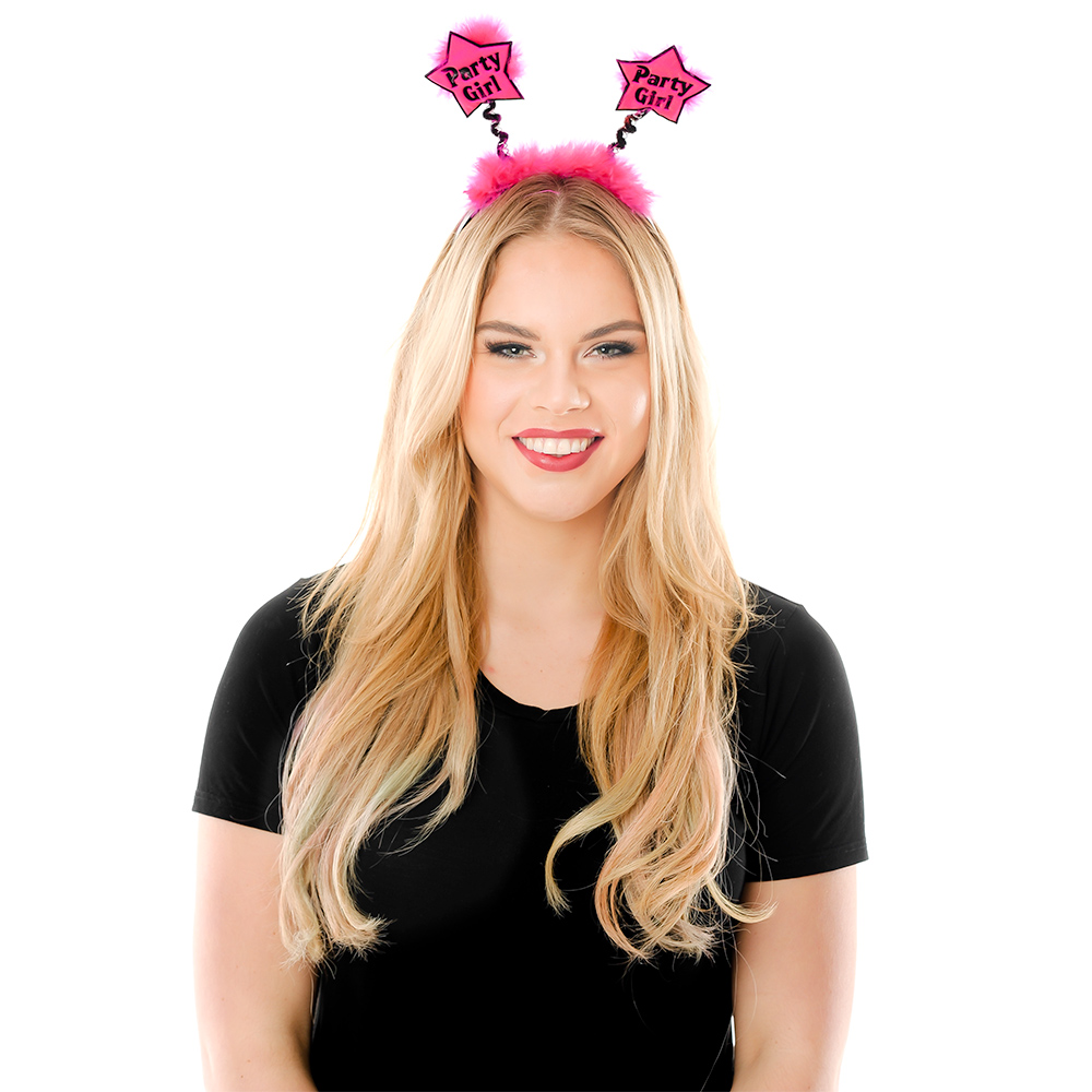 Model Wearing Party Girl Star Boppers