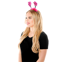 Side View Of Model Wearing Party Girl Star Boppers