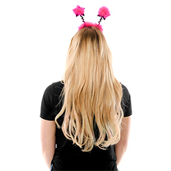 Back View Of Model Wearing Party Girl Star Boppers