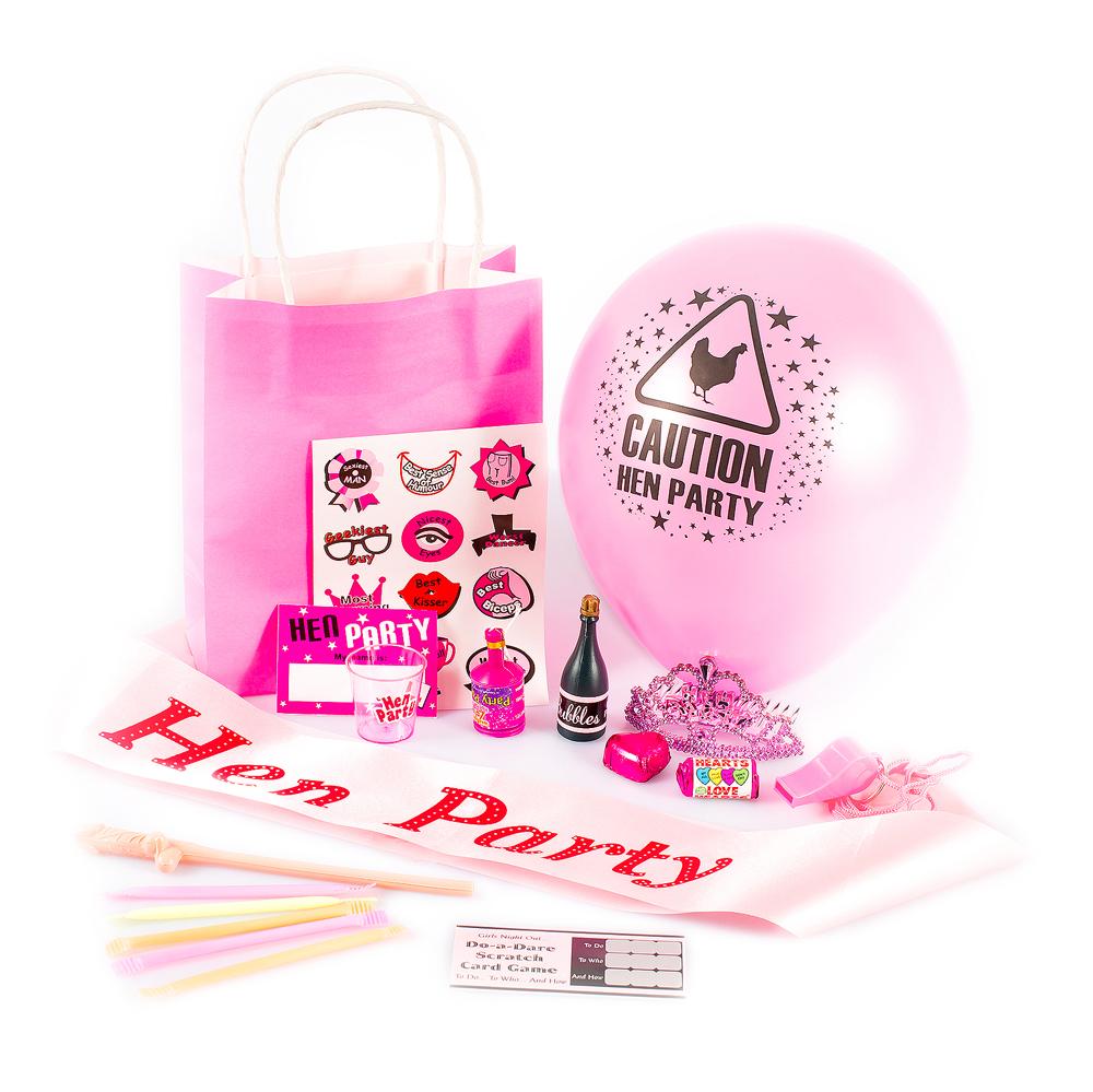 Pre Made Hen Party Gift Bag