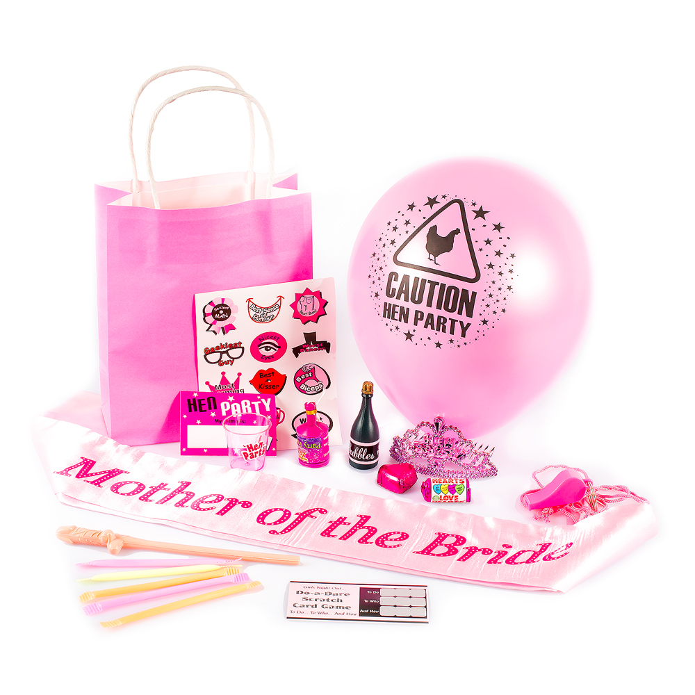 Pre Made Mother of The Bride Gift Bag