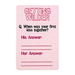 Is He Mr Right Card Game Getting Wilder Card