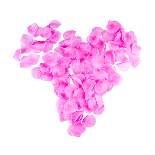 Artificial Pink Rose Petals