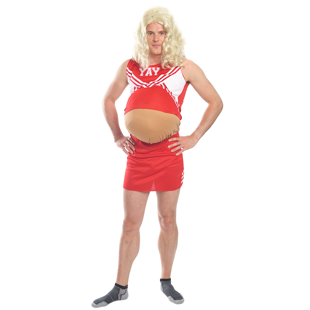 Pregnant Cheerleader costume