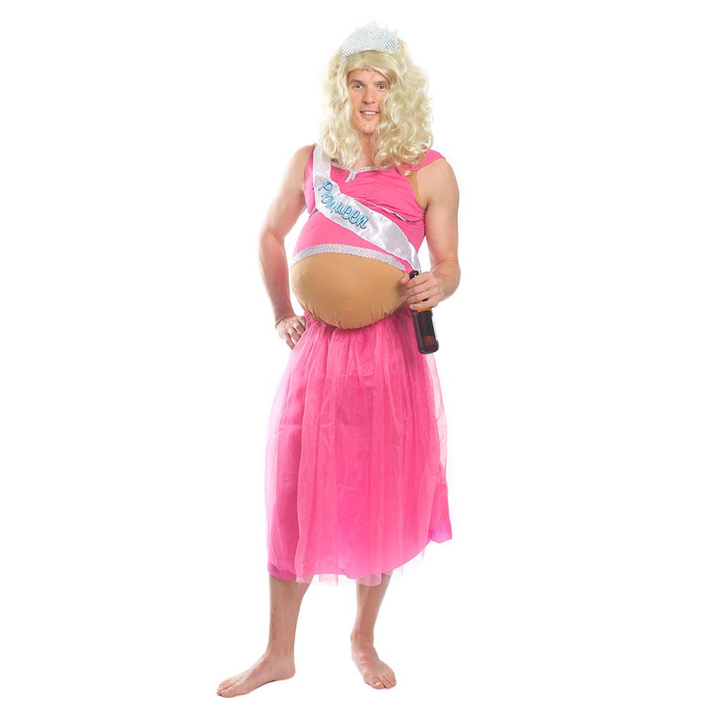 Pregnant Prom Queen costume