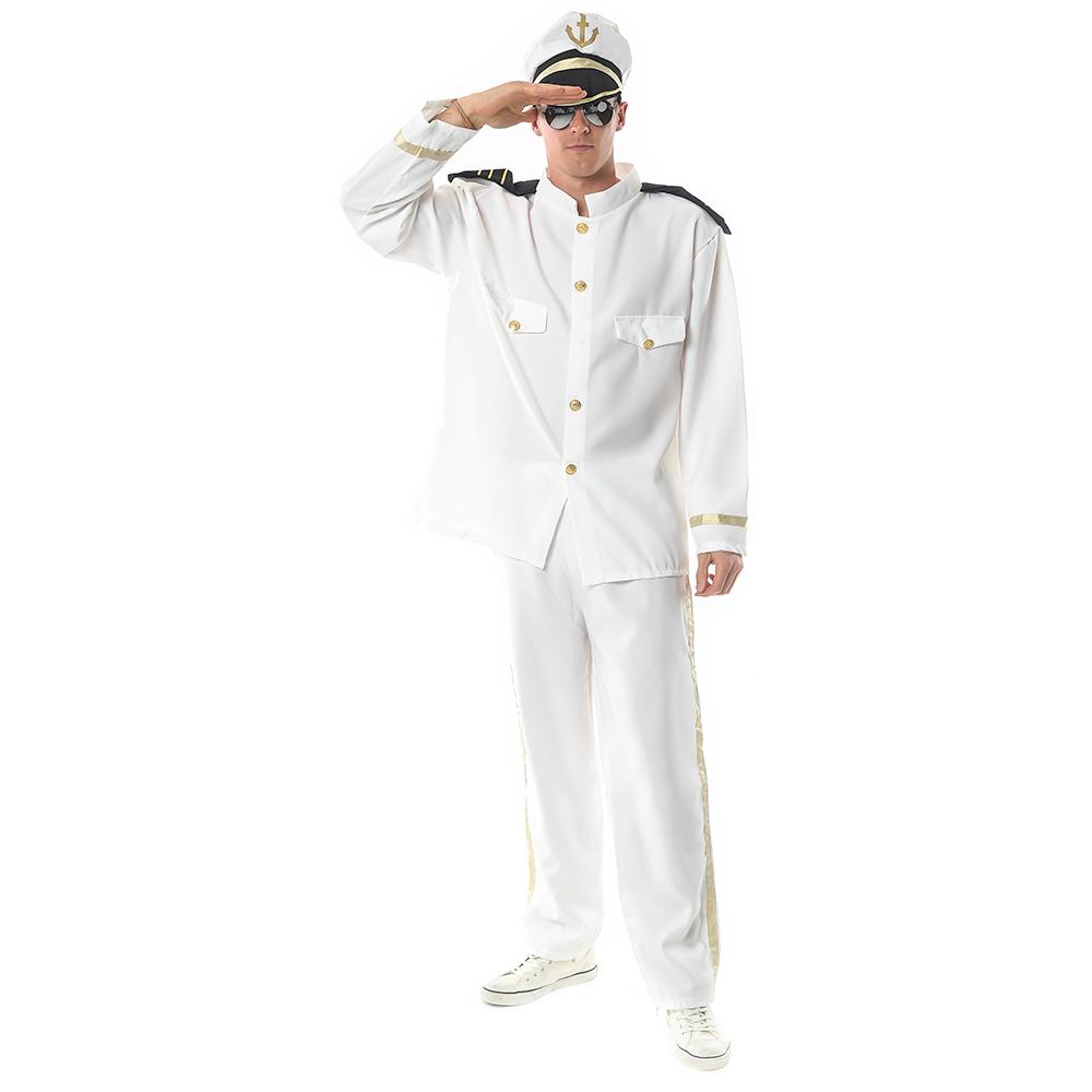 Sea Captain Fancy Dress Costume