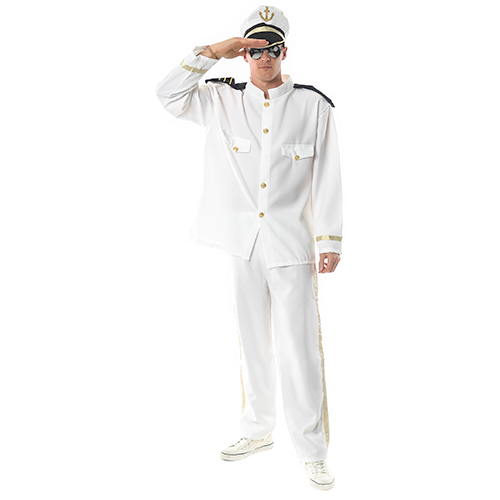 Sea Captain Fancy Dress Costume