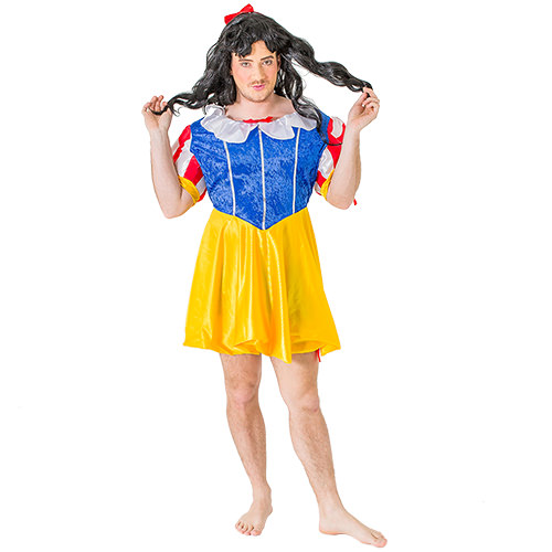 Male Model Wearing Fairyland Drag Costume