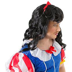 Fairyland Drag Costume And Black Wig
