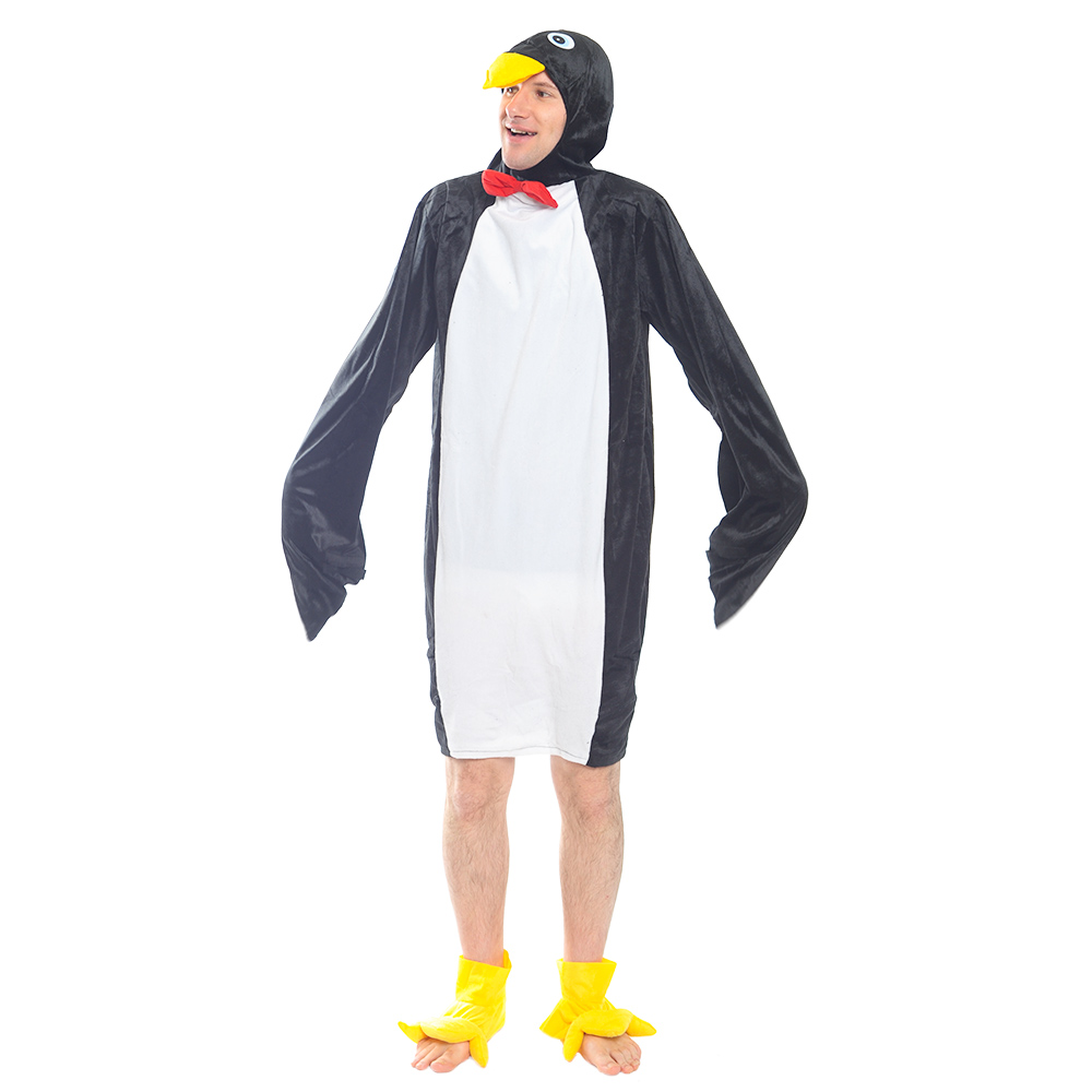 Penguin Costume with red bow tie